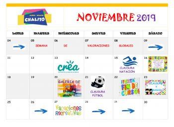 chalito cronograma Nov-01
